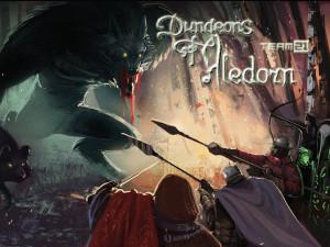 DoA_Team21_Dungeons_of_Aledorn_Werewolf_Fight